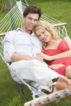 couple in hammock