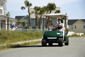 Using A Golf Cart For Greener Transportation