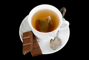 Fair-Trade Tea and Chocolate