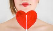 Candy Valentine Lollipop