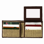 jute wallet for men
