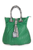 ladies green purse