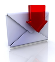 red arrow envelope