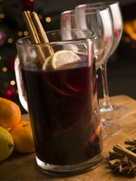 mulled wine recipe, spiced wine drink