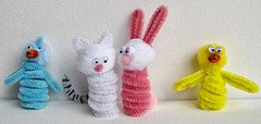 easter crafts, puppets