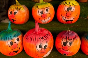Funny Face Pumpkin Craft