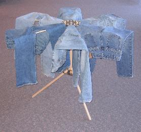 Jeans on my drying rack