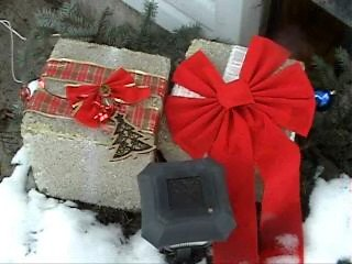 Recycled Light-Up Christmas Gift Boxes