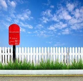mailbox,red mailbox