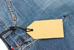 tagged jeans